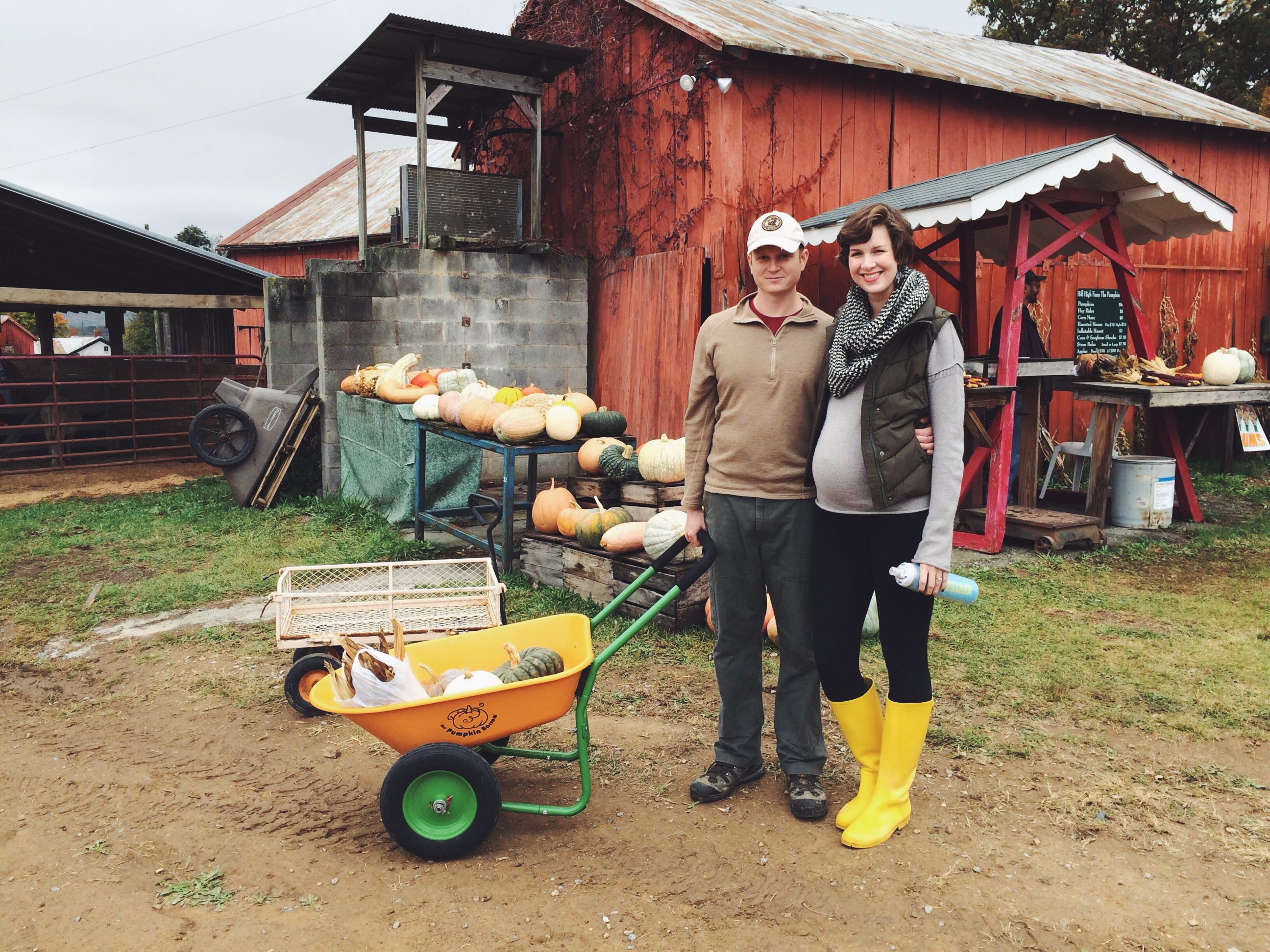 our fall day at the farm for pumpkin picking
